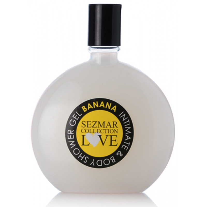 Gel douche toilette intime parfum banane 250ml - SEZ006
