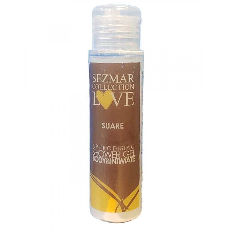 Gel douche aphrodisiaque parfum Suare 50ml - SEZ027