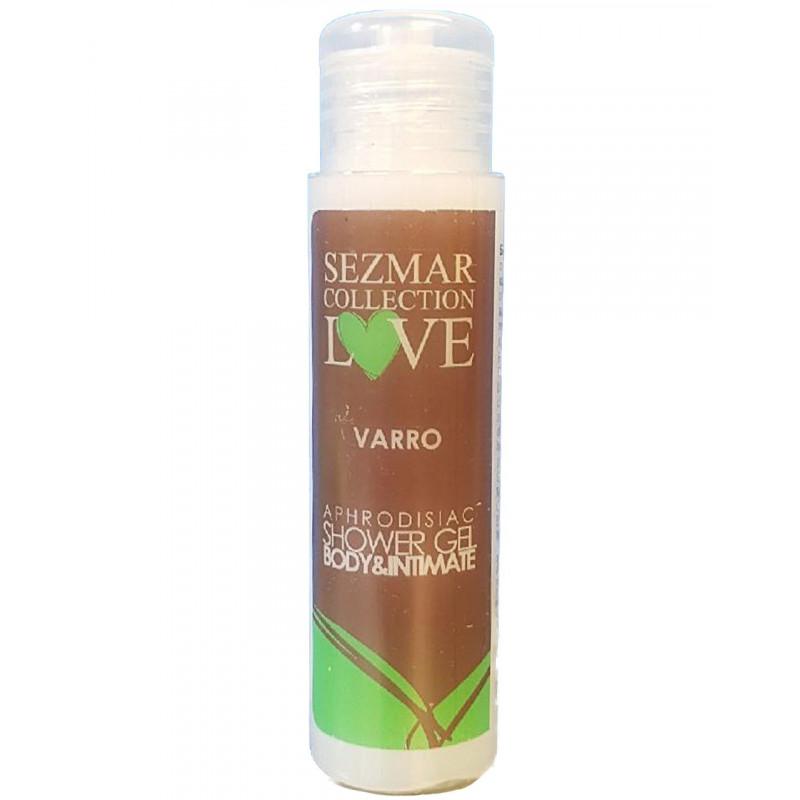 Gel douche aphrodisiaque parfum Varro 50ml - SEZ028