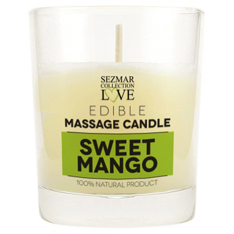 Bougie de massage mangue 100ml - SEZ048