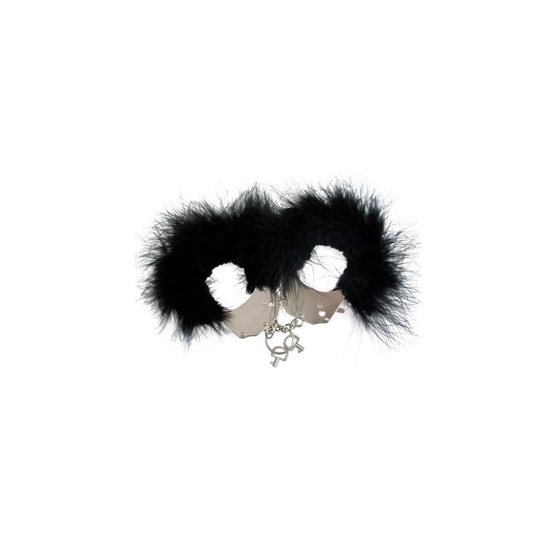 Menotte plume noir - ZAD30329