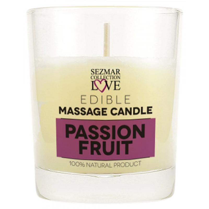 Bougie de massage fruit de la passion 100ml - SEZ055