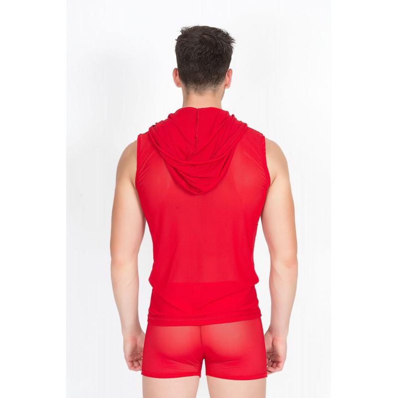 V-Shirt Malibu II Rouge - LM92-77RED
