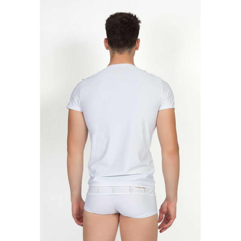T-Shirt Marker Blanc - LM713-81WHT