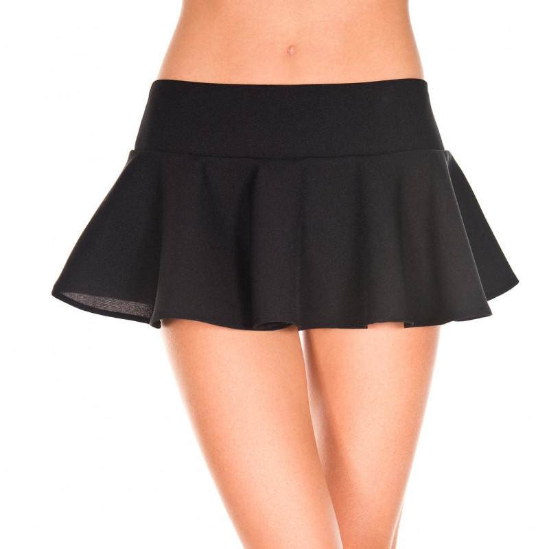 Mini jupe évasée - ML181BLK