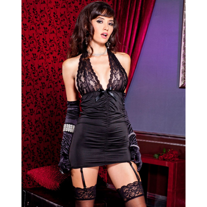 Nuisette Glamour - ML52059BLK
