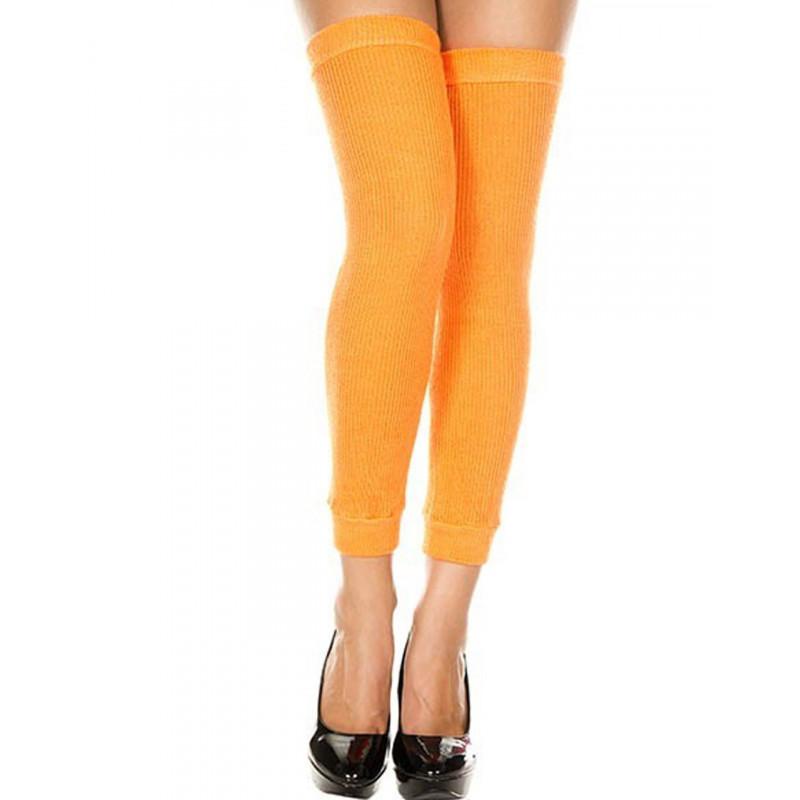 Jambières guêtres côtelées oranges - MH4248NEO