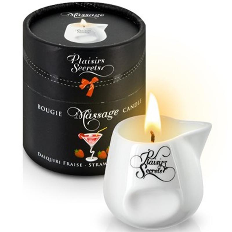 Bougie de massage daïkiri fraise 80ml - CC826036