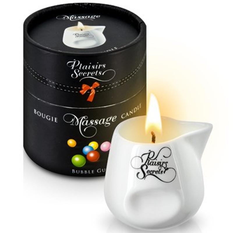Bougie de massage bubble gum 80ml - CC826015