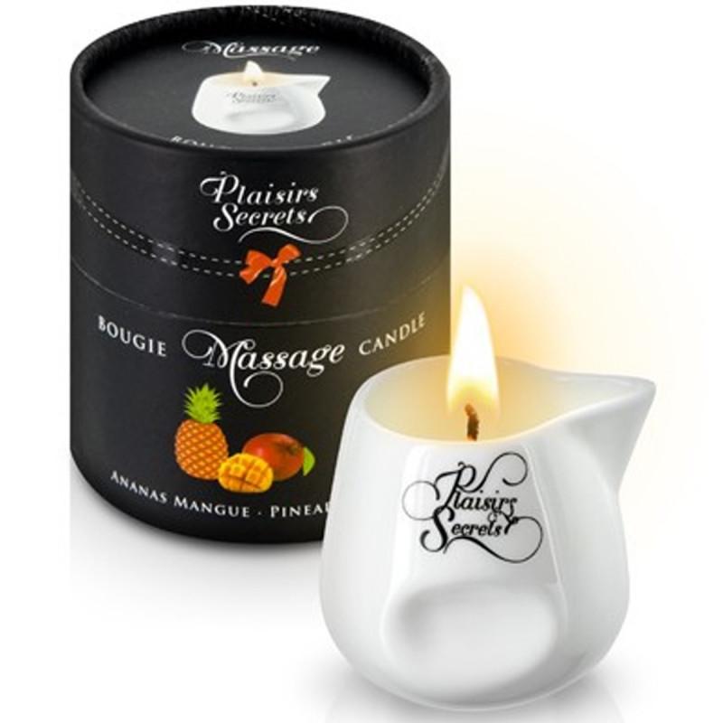 Bougie de massage ananas mangue 80ml - CC826033