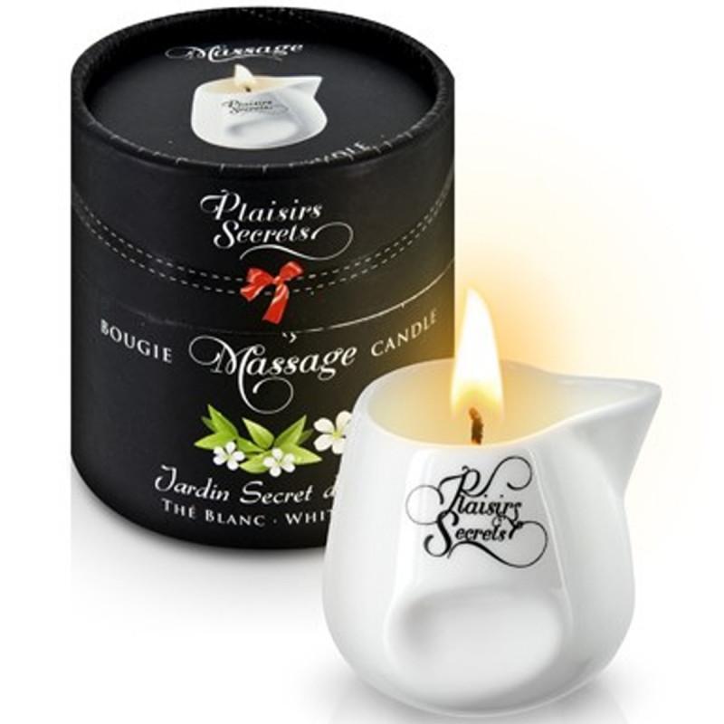 Bougie de massage thé blanc 80ml - CC826039