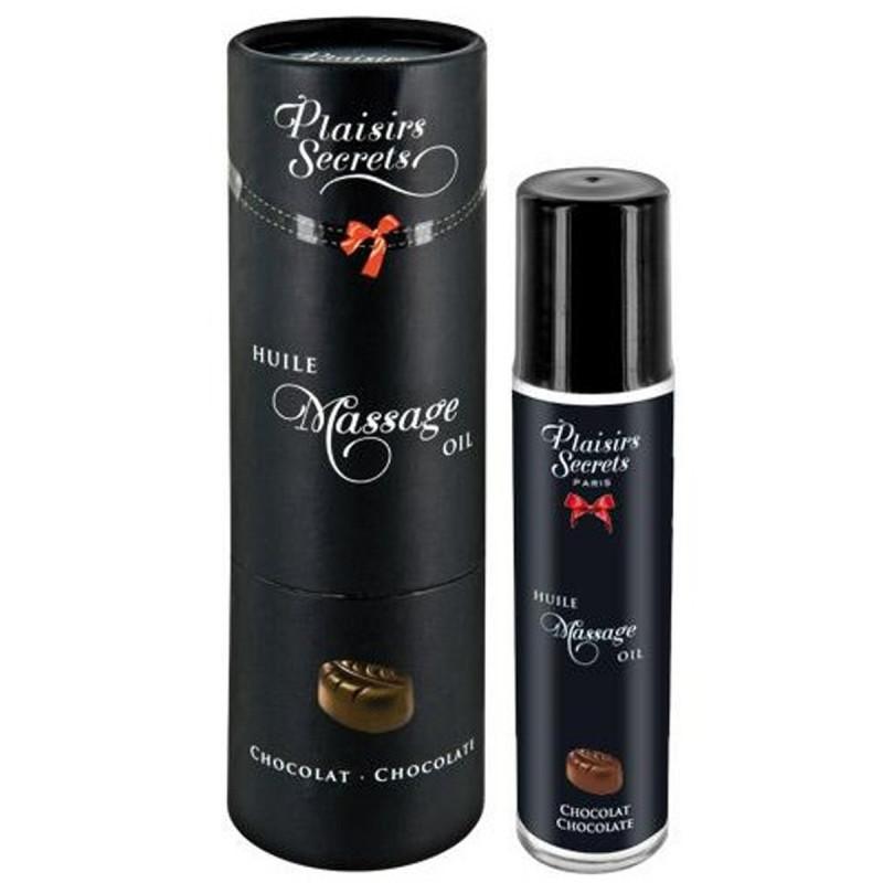 Huile de massage comestible chocolat 59ml - CC826001