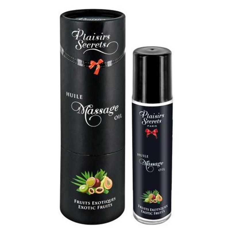 Huile de massage comestible fruits exotiques 59ml - CC826004