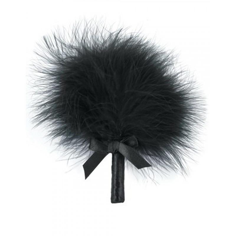 Plumeau noir avec noeud satiné - CC5160630010