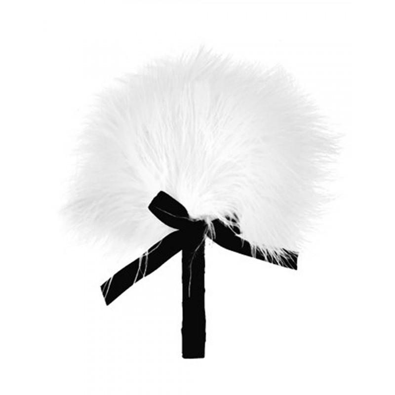 Plumeau blanc avec noeud satiné - CC5160630020