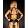 Ensemble lingerie sexy 3 pièces Amanda Demoniq