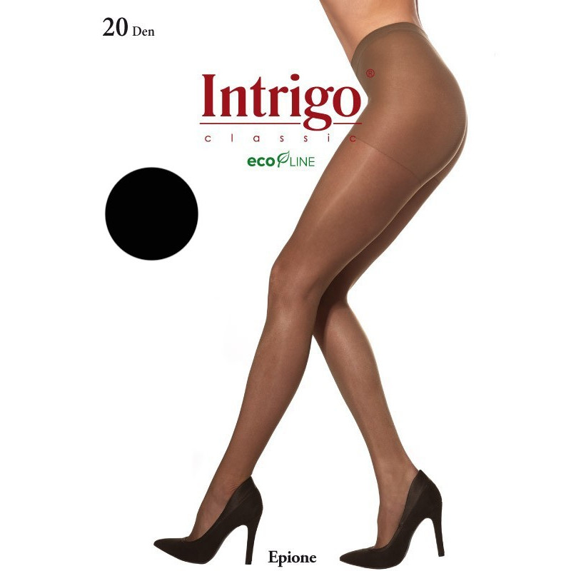 Collants Epione 20 deniers noir