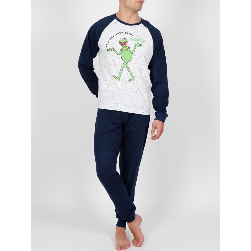 Tenue d'intérieur pyjama haut et pantalon Kermit Walking Disney ADMAS For Men 54231AD