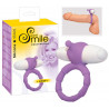 You 2 Toys - Bad Kitty Cockring Smile Loop en silicone - 7 vitesses