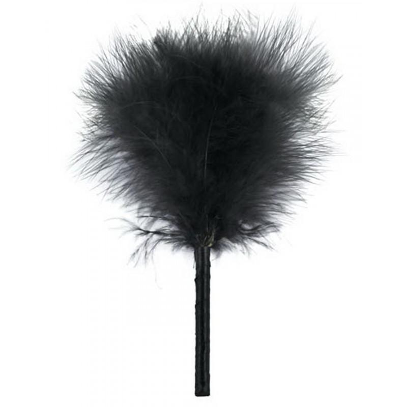 Plumeau de caresse noir 23cm - CC570017