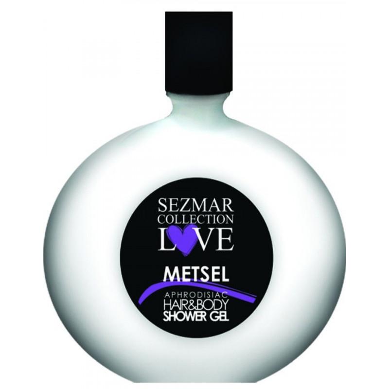 Gel Douche Aphrodisiaque parfum Metsel 250ml - SEZ010A