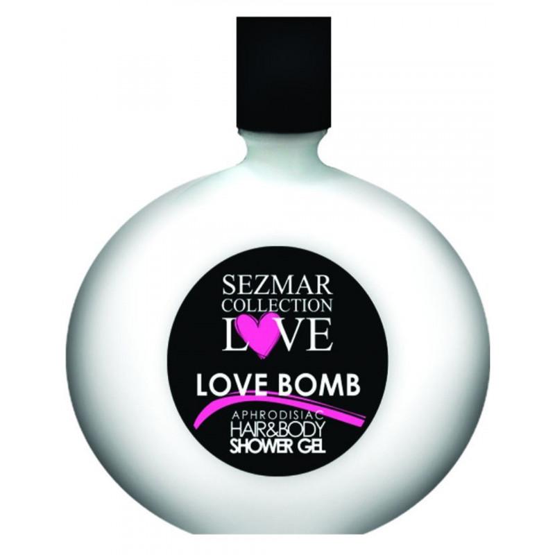 Gel douche aphrodisiaque parfum Love Bomb 250ml - SEZ014A