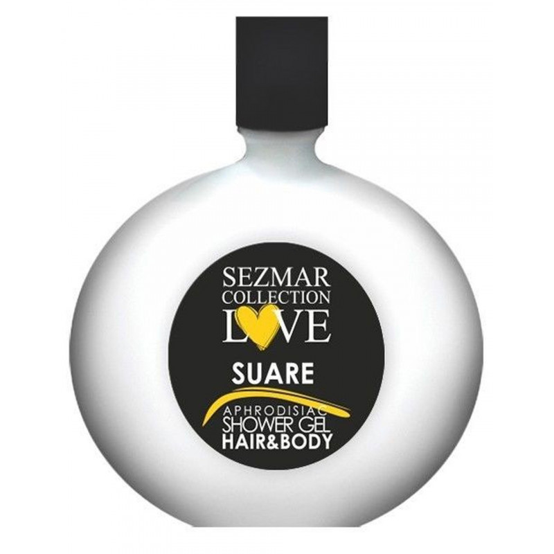 Gel douche aphrodisiaque parfum Suare 250ml - SEZ027A