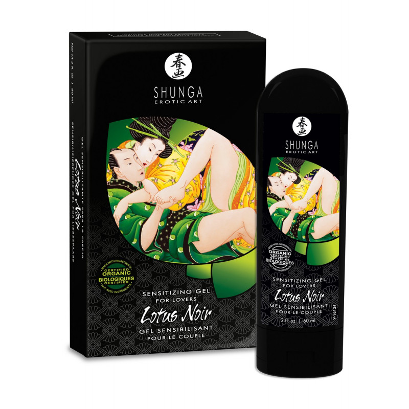 Gel sensibilisant de couple Lotus Noir 60ml - CC815400