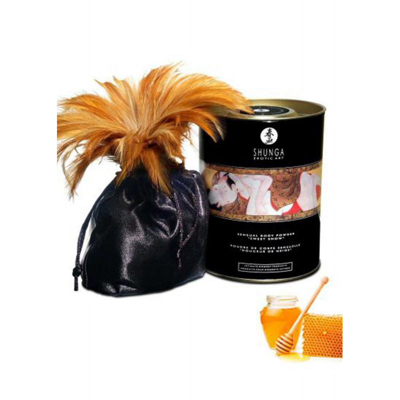 Poudre de massage corporelle comestible miel des nymphes 228grs - CC3003