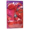 Kit masque menottes duvet et plume - CC500503