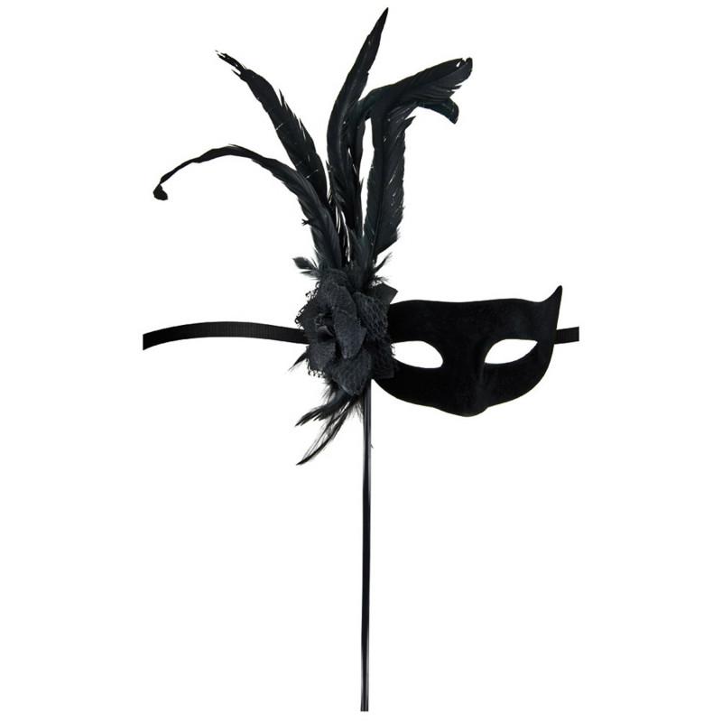 Masque loup Orfeo noir - CC709721001000