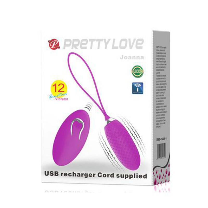 Oeuf vibrant à picots 12 vitesses USB - CC530327