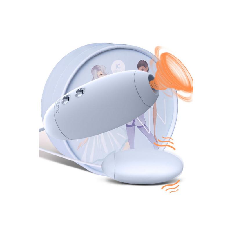 Oeuf vibrant stimulateur à succion clitoridien USB - WW-KST-011