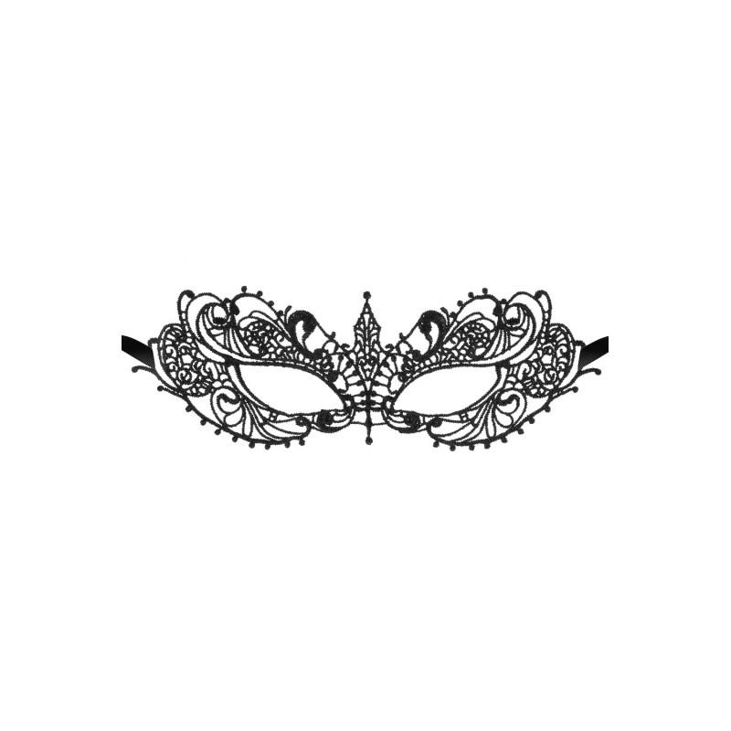 Loup noir souple broderie élégante - CC709737001000