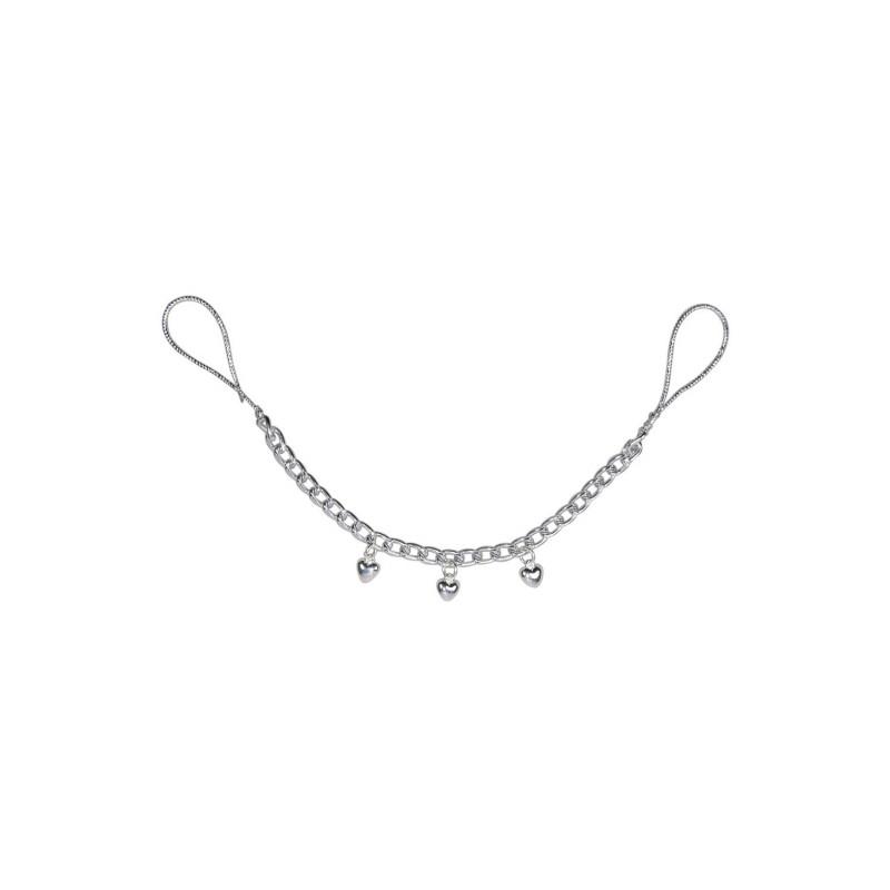 Chaine de tétons avec pendentifs coeur - FS7737780000