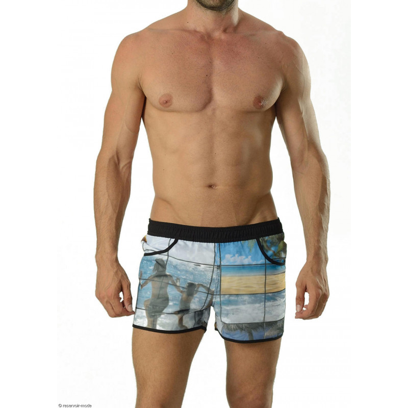 Short de bain 3D Surfing geronimo 16043D1