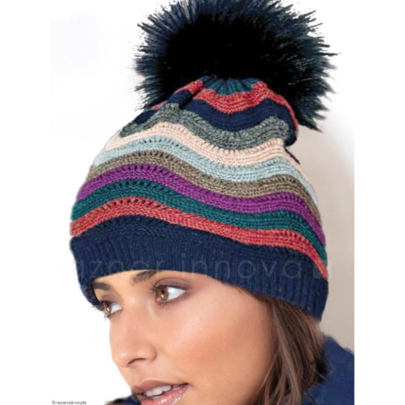 Bonnet à houppe ADMAS Woman 59068GA