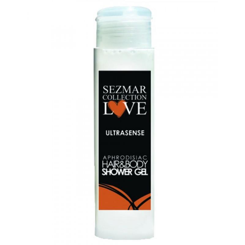 Gel douche aphrodisiaque parfum Ultrasense 50ml - SEZ011