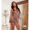 Nuisette imprimé léopard - DG10148LEO